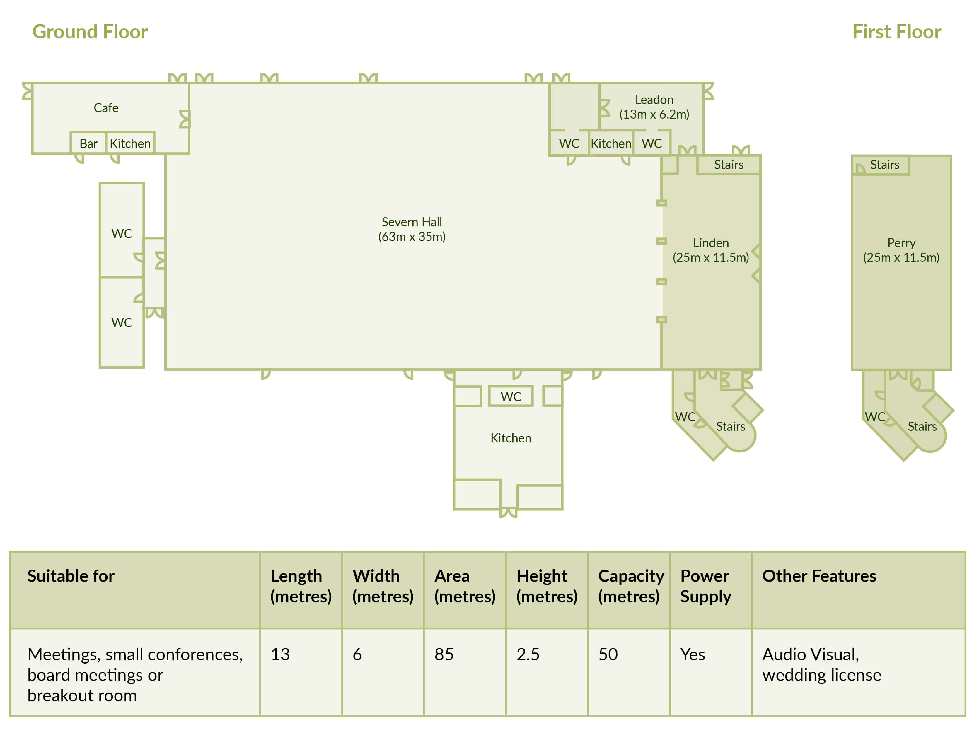 Leadon Suite Plan