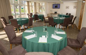 Leadon Suite Set Up Cabaret Style - Three Counties Showground Malvern.jpg